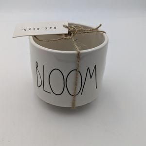 New Rae Dunn bloom mini planter